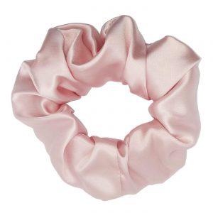 duża różowa gumka z jedwabiu