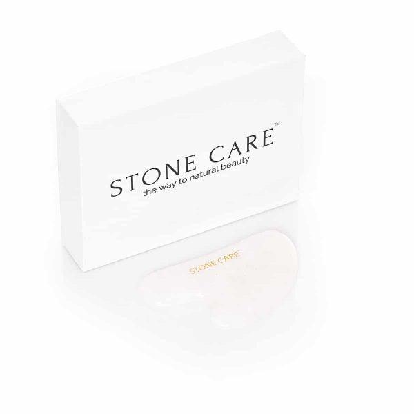 Kamień płytka gua sha z kryształu górskiego - STONE CARE